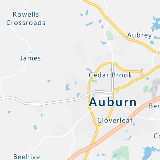 USPS Mailboxes Located in Auburn, AL - Mailbox Locate